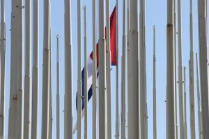 La bandera cubana en su laberinto